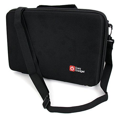 Schwarzes Hard Case mit Schaumeinlage für den Transport Ihrer Pure Jongo A2 und i-box Slix Bluetooth Speaker Lautsprecher
