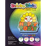 Shrinky Dinks Crystal Clear 10 Sheet Creative Pack by Shrinky Dinks