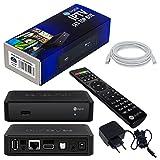 MAG 250 Original IPTV SET TOP BOX Multimedia Player Internet TV IP Receiver + HB Digital LAN Kabel