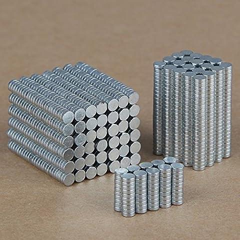 100pcs 3mm x 1mm N35Super Strong imanes de neodimio de tierras raras