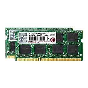 Beste 16 GB Notebook-RAM-Kits: Transcend JM1600KSH