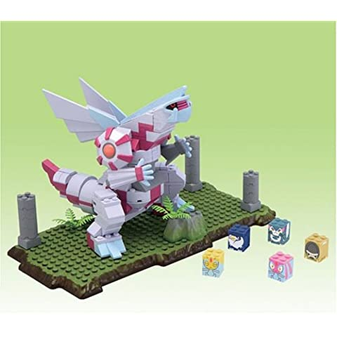 Pokemon Japanese Mega Bloks Deluxe Figure Set Palkia (japan import)