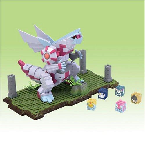 Pokemon Japanese Mega Bloks Deluxe Figure Set Palkia