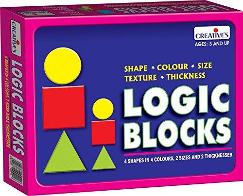 CREATIVE PRE SCHOOL   LOGIC BLOCKS (NEW)