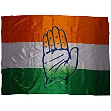 Congress Outdoor Silk Flag by Sheela Ad Makers