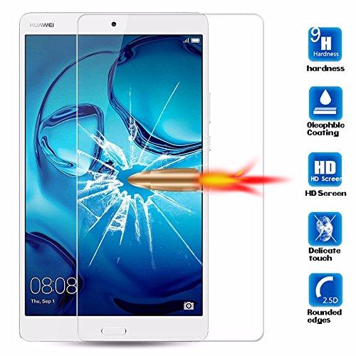 Preisvergleich Produktbild Panzerglas für Huawei MediaPad M3 Lite 10.0 Zubehör Displayschutz 9H Schutz Glas blasenfrei