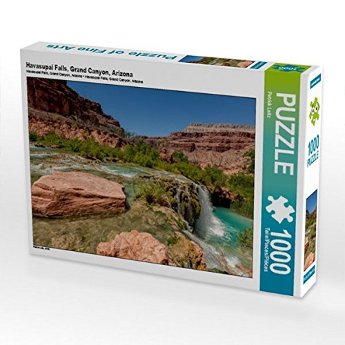 Havasupai Falls, Grand Canyon, Arizona 1000 Teile Puzzle quer