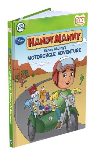 Disney LeapFrog markierungsbuch Meister Mannys Motorrad-Abenteuer (funktioniert mit dem LeapReader
