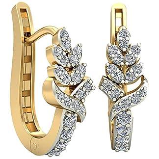 PC Jeweller The Idella 18KT Yellow Gold & Diamond Earring