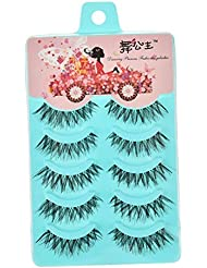 BESTIM INCUK 5 Pairs Fake Eye Lash False Eyelashes Extension Makeup