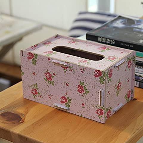 Tirar la toalla de papel de la bandeja de cartuchos continental home escritorio creativo de madera elegante mando a distancia todo en uno admitir simple cartucho , tire de la bandeja camelias