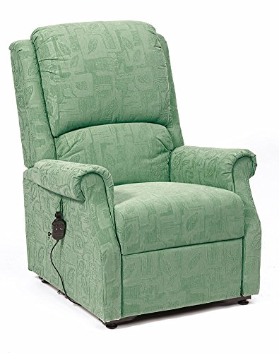 Restwell Chicago Fabric Rise Recline Armchair