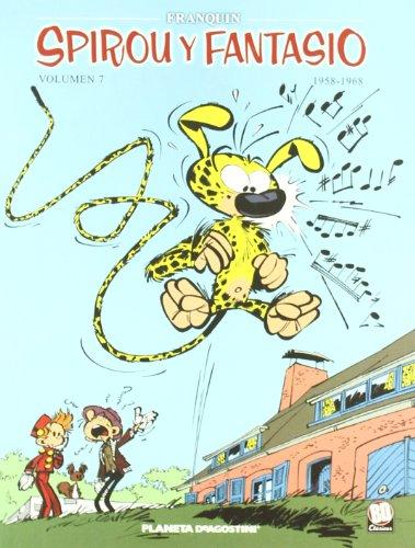 Spirou y Fantasio 1958-1968 nº 07/07 (Cómics BD 2 NO) por Franquin