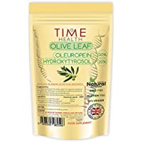 Olivenblatt-Extrakt – sehr Stark – Oleuropein 50% – Hydroxytyrosol 20% (120 Kapseln)