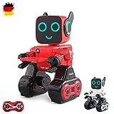 HSP Himoto 2.4GHz RC Ferngesteuerter Roboter programmierbar, in Allen Richtungen fernsteuerbar, Tanz, Demo, Sound- und Musikfunktionen und vieles mehr, OVP