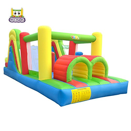 YARD Kids Bouncy Castle Inflatable Bouncer Bounce House and Slide Inflatable Jumper with Airflow Fan ��