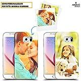 Custodia Cover Anukku® in Air Gel Ultra Sottile Personalizzata Con la tua Foto, Immagine o Scritta Per Samsung Galaxy S8 Stampa di Qualità Fotografica Con Mimaki