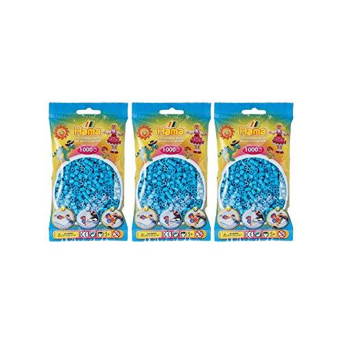 Hama Midi Perlen 3000Pcs (3x 1000Stück)–verschiedene Farben