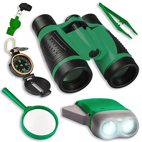 UTTORA Kit de Binoculares para Niños, Kit de Exploración...
