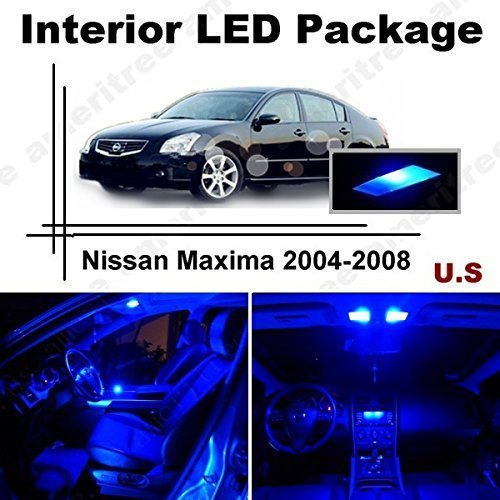 ameritree-nissan-maxima-2004-2008-11-pieces-blue-led-lights-interior-package-and-blue-led-license-pl