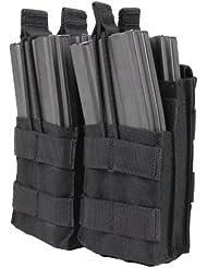 CONDOR MA43-002 Double Stacker M4/M16 Mag Pouch Black