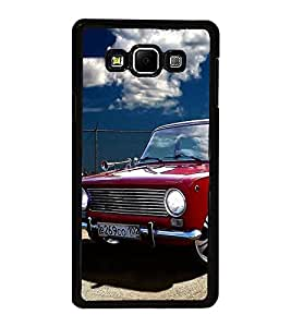 Vizagbeats Vintage Car Back Case Cover for SAMSUNG GALAXY A8