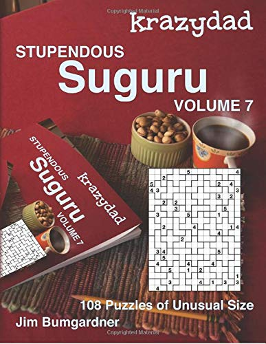 Price comparison product image Krazydad Stupendous Suguru Volume 7: 108 Puzzles of Unusual Size