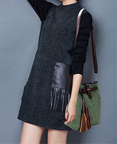 zhengjun , Sac à main porté au dos pour femme green