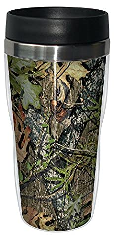 Tree-Free Greetings 16 oz Stainless Steel Obsession by Mossy Oak