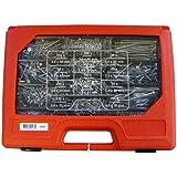 Bestapac 525157 Universalschraubenkoffer verzinkt Innensechsrund