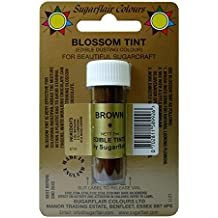 Sugarflair Blossom Tints Essbare Puderfarben Lebensmittelfarbe Fondant Puder Brown Braun
