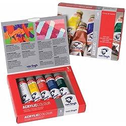 VAN GOGH pintura de base de color acrílico - 5 x 40 ml