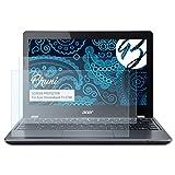 Bruni Schutzfolie für Acer Chromebook 11 C740 Folie, glasklare Displayschutzfolie (2X)
