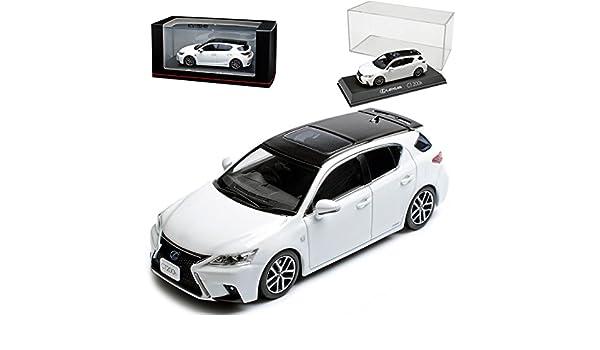 Lexus CT200H F-Sport Weiss Ab 2010 1//43 Kyosho Modell Auto mit oder ohne individ