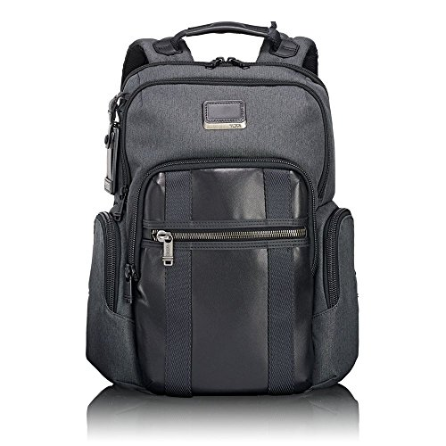 "Tumi Alpha Bravo - Nellis Laptop Backpack 15"" Mochila Tipo Casual, 40 cm, 22.28 Liters, Gris (Anthracite)"