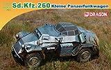 Dragon 500777446 - 1:72 Sonderkraftfahrzeug 260 kleiner Panzerfunkwagen