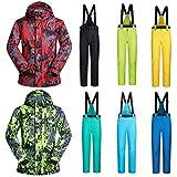 LIJUMN Männer Skianzug Schneeanzug Winddicht Wasserdicht Outdoor Sport Warme Skianzug Jacke Und Hosen Set