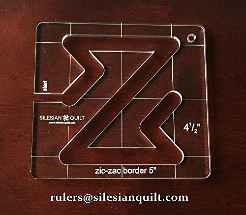 template-for-quilting-zic-zac-border-5-inches