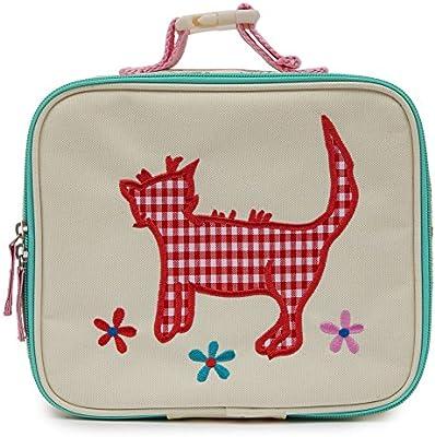 Forro rosa Childs aislado Box Lunch / bolso - Design doncellas y unicornios