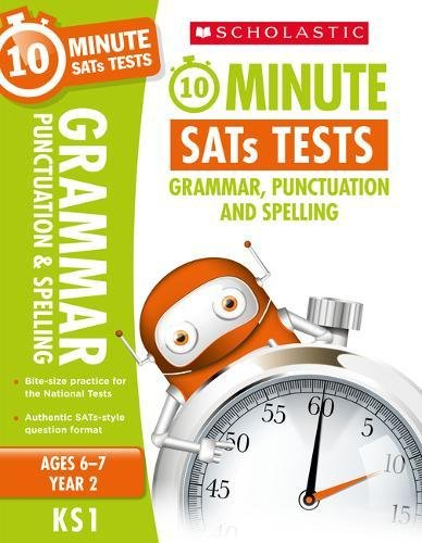 10-Minute SATs Tests for Grammar, Punctuation & Spelling - Year 2