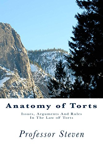 Anatomy of Torts: (e law-book), Torts law a - z