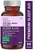 Carbamide Forte Sleeping Aid Pills for Deep Sleep with Melatonin & Valerian –