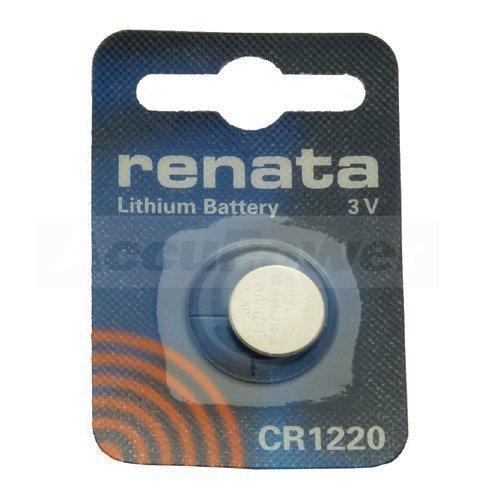 Renata CR1220.CU MFR bouton au lithium de batterie, 40mAh
