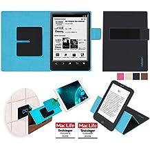 Funda para Sony PRS-T3 en Negro - Innovadora Funda 4 en 1-Anti-Gravedad para Montaje en Pared, Soporte de eReader en Vehículos, Soporte de e-book - Protector Anti-Golpes para Coches y Paredes sin necesidad de herramientas o pegamento - Funda de reboon para Sony PRS-T3 Original