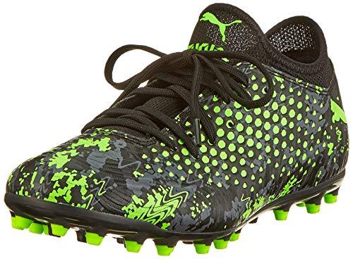Puma Herren Future 19.4 MG Fußballschuhe Schwarz Black-Charcoal Gray-Green Gecko, 44 EU