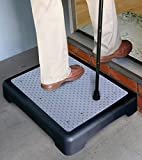 E-Fast® E-Fast Instant Height Non Slip Outdoor Step (1193) Half Step instantly reduces height of doorsteps. Mobility Aid.
