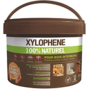 xylophene 100 natural 2 5 l interior wood treatment kitchen home. Black Bedroom Furniture Sets. Home Design Ideas