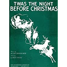 (1944) 'Twas The Night Before Christmas  Piano & Voice digital restoration composition score (Retro Relics in Public Relations Book 2) (English Edition)