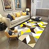 Teppich Matte einfach verdickt Mode Trendigen Design Multi Farben Wohnzimmer Couchtisch Bedrooom Rechteck Hause Decke klassischen Boden Bodengröße 160cm * 230cm