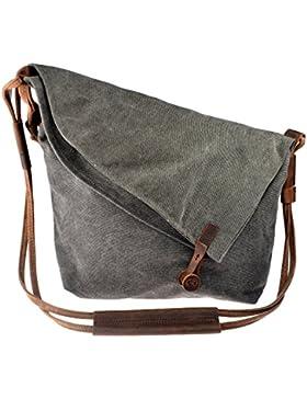Canvas Tasche, Ct-tribe Canvas Unisex Tasche Umhängetasche Damen Taschen damen Mädchen Schultertaschen Einkaufen...